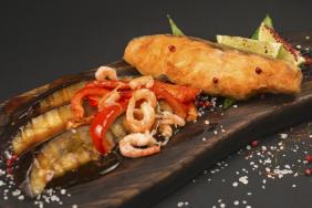 Стейк из рыбы Тайский