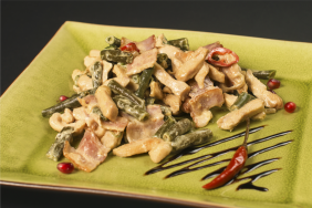 Теплый салат Амиго